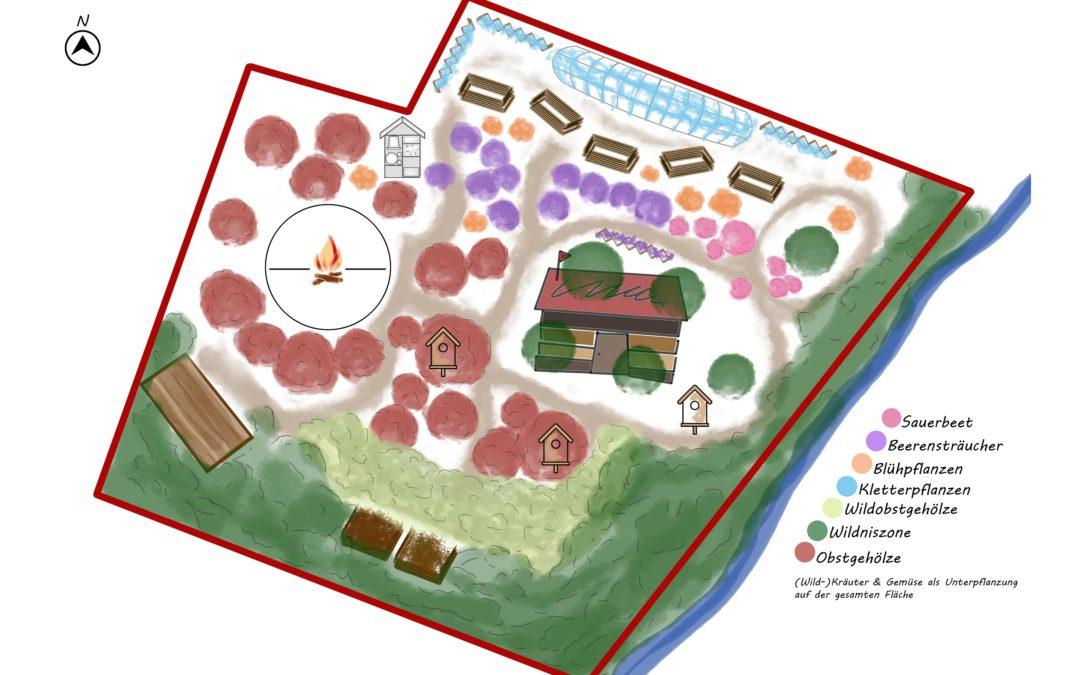 Waldgarten St. Urbanus – Ein Plan entsteht