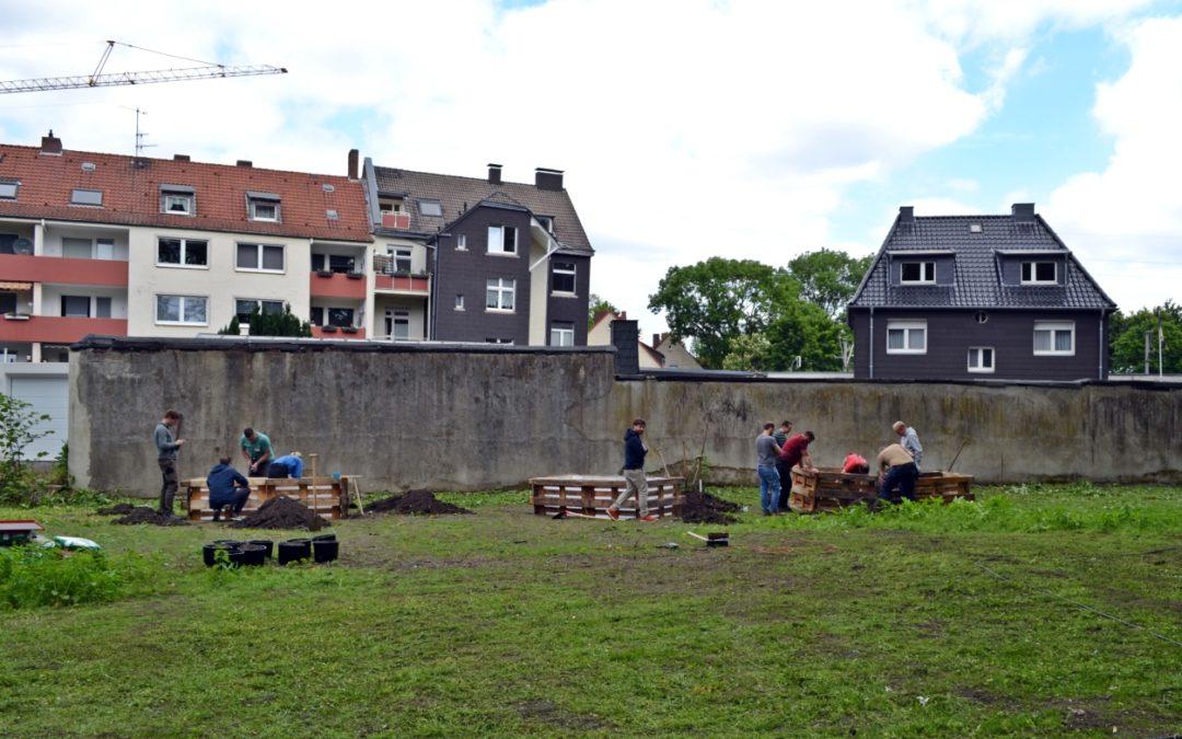 Hochbeet Bauaktion St. Urbanus