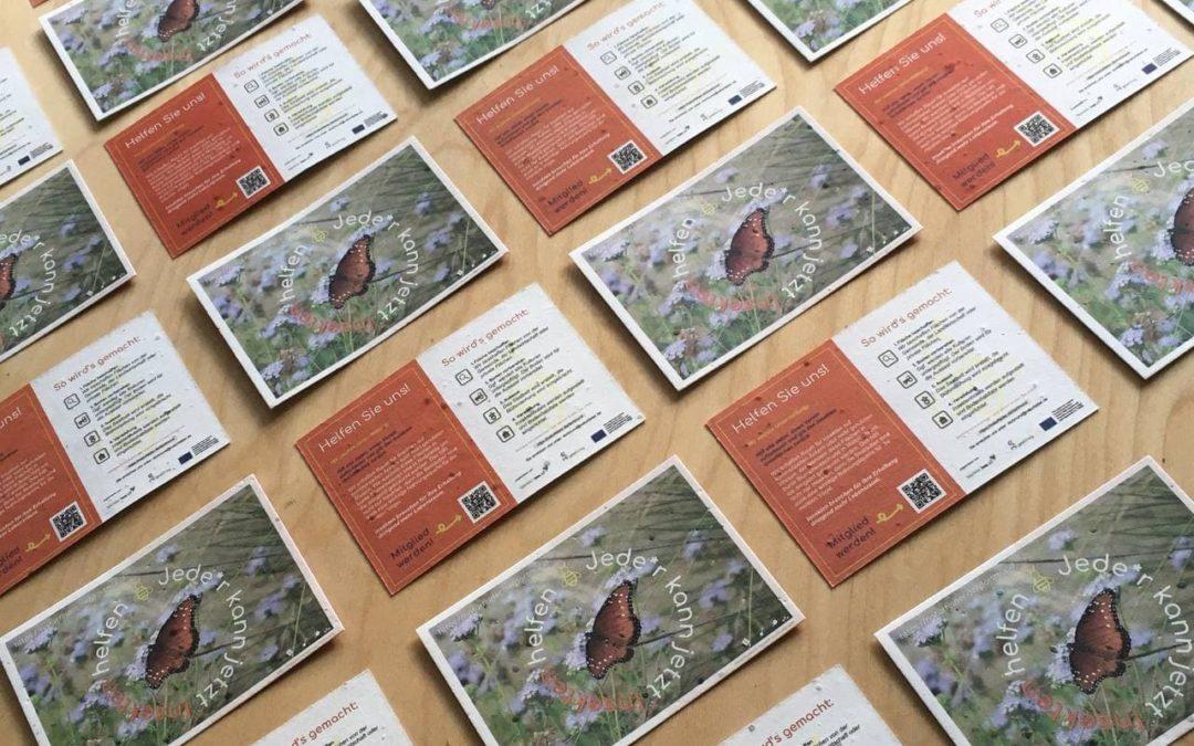 Naturfelder Flyer und nächstes Treffen